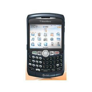 RIM Blackberry Curve 8320 Camera Wifi Unlocked GSM Phone AT T Blue B
