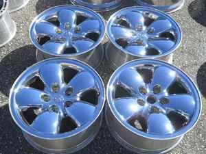 Dodge RAM 20 Chrome Alloy Wheel Rim Set Nice LKQ