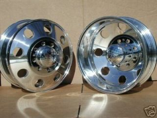 EAGLE 058 ALUMINUM WHEELS RIMS CHEVY 3500 DODGE 3500 DUALLY TRUCK