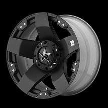 KMC XD Series Rockstar 775 Wheel Rim 18x9 Black 5x4 50 New Each