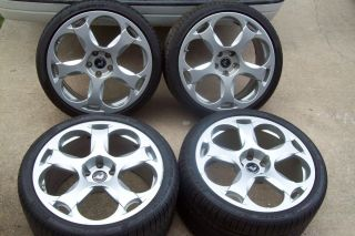 Lamborghini Gallardo Factory Original Wheels Rims Silver OEM VW AUDI