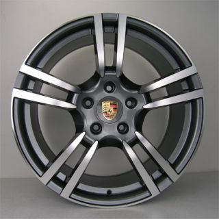 TIRES PKG FOR PORSCHE CAYENNE AUDI Q7 VW TOUAREG Turbo Style RIMS