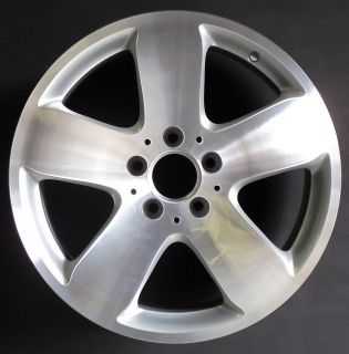 06 07 Mercedes E320 E500 E550 17 5 Spoke Factory OEM Wheel Rim H 65296