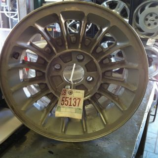 1987 1991 Mustang 15x7 Sixteen Spoke Alloy Wheel Without Center Cap