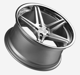 19 Vertini Monaco Staggered Wheels Rims Fit Mercedes CL500 CL600 CL55