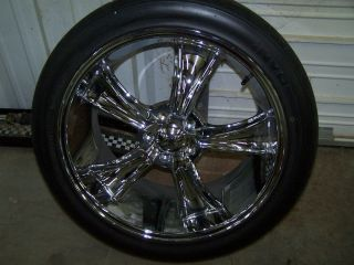 Mustang Wheel and Tire Package Invo Tire and Blvd Rims 20 Inch