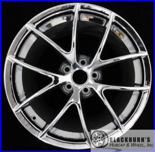 Chevy Corvette Z06 19 Chrome Rear Wheel Used Factory Rim 5398