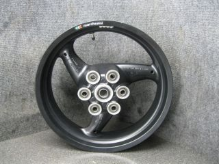 09 Ducati Monster 696 Marchesini Rear Rim Wheel R11