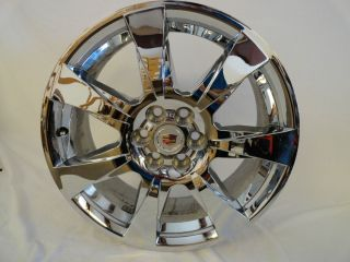 Cadillac SRX 20 Chrome Clad Factory Wheel Rim 2010 12 Replacement