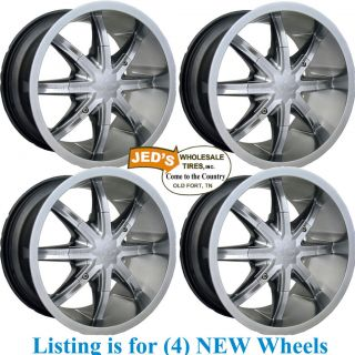 14x8 4/110 ATV RIMS WHEELS for Yamaha Big Bear 350 / 400 2X4 4X4 SRA