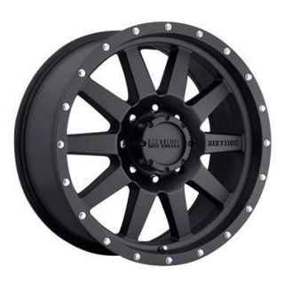 16 Method Black Wheel 285 75R16 Falken Wild Peak A T Tire Mount