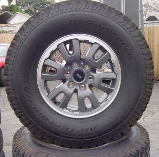 FORD 2012 F150   RAPTOR   SVT 17 INCH OEM WHEELS & TIRES SET OF 4