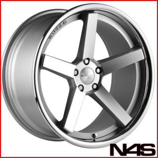 GS400 GS430 Stance SC 5IVE Silver Concave Staggered Wheels Rims