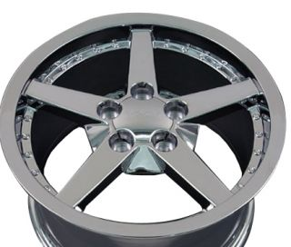 18 Rims Fit Camaro Corvette C6 Deep Dish Wheels Set