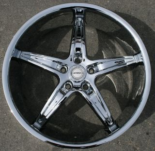 Strada Riga 20 Chrome Rims Wheels Lexus ES330