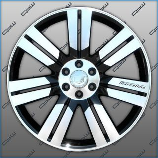 New Cadillac Escalade 24 inch Wheels Rims ESV Ext Black Machined Face