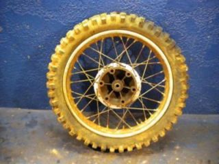 1970 Husqvarna 360 C Sportsman Rear Rim Wheel