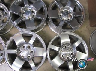 07 10 GMC Sierra Denali Yukon Factory 18 Wheel Rims
