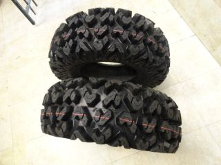 Kawasaki Brute Force 750 4X4I 2009 2012 Front and Rear Tire Set Sedona