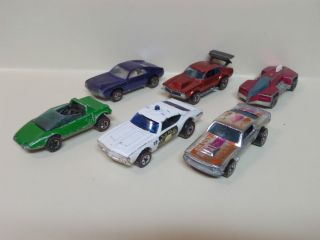 Vintage Red Line Hot Wheel Lot of 6