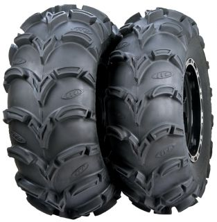 ITP Mud Lite XL ATV Tire Set 26x10x12 and 26x12x12 2 of Each Size New