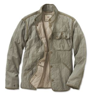 Quilted Work Jacket, X Large
