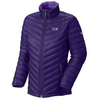 Mountain Hardwear Nitrous Down Jacket   800 Fill Power (For Women)   NIGHT PURPLE (S )