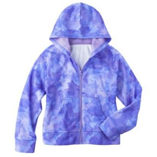 C9 by Champion Girls Tech Fleece Full Zip Hoodie   Zen XS