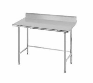 Advance Tabco 36 Work Table   5 Rear Splash, 30 W, 16 ga 304 Stainless