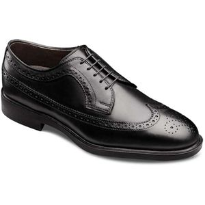 Allen Edmonds Mens Oxford Black Leather Shoes   3114
