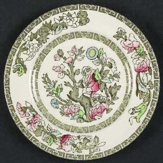 Johnson Brothers Indian Tree (Green Key, Cream) Bread & Butter Plate, Fine China