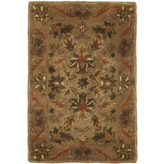 Safavieh Antiquities Majesty Sage/Gold Rug AT52A Rug Size Square 6