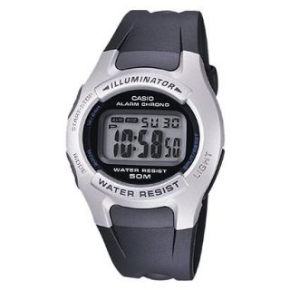 Casio Mens Digital Sport Watch   Black   W42H 1AV