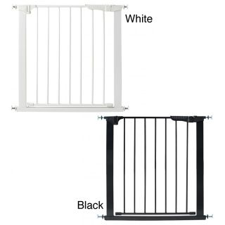 Kidco Auto Close Gateway Child Gate (White, blackMaterials MetalDimensions 2 inches long x 28.75 inches wide x 30.5 inches high )