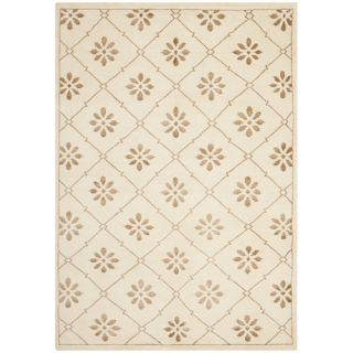 Safavieh Mosaic Cream / Light Brown Rug MOS154A