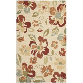 Safavieh Four Seasons Beige / Red Rug FRS226A