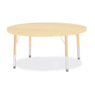 Jonti Craft Berries Round Activity Table (42 x 42) 6468JC251 Size 15 H x