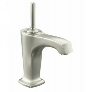 Kohler K 16230 4 BN Margaux One Handle Single Control Lavatory Faucet