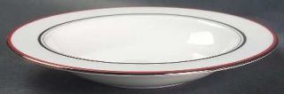Lenox China Library Lane Coral 9 Soup/Pasta Bowl, Fine China Dinnerware   Kate