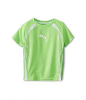 Puma Kids Formstripe Tee Boys Short Sleeve Pullover (Green)