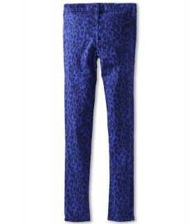 Joes Jeans Kids Girls Wild Leopard Printed Jegging Girls Casual Pants (Blue)