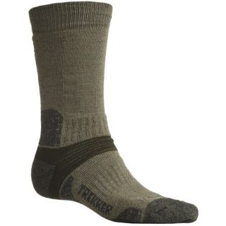 Bridgedale Trekking Socks   New Wool Blend  Midweight (For Men and Women)   GREEN (S )
