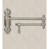 Waterstone 3150 CH Annapolis Suite Wall Mounted Pot Filler with Cross Handle