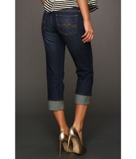 Lucky Brand Sweet N Straight Crop in Dark Lorenzo Womens Jeans (Blue)