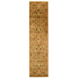 Safavieh Antiquities Majesty Sage/Gold Rug AT52A Rug Size Runner 23 x 8