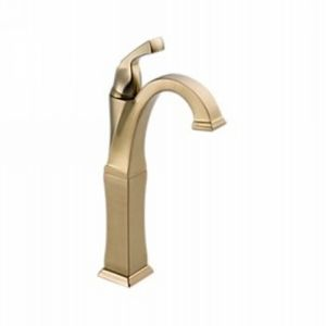 Delta Faucet 751 CZ DST Dryden Single Handle Lavatory Faucet with Riser