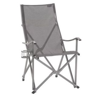 Coleman Elite Sling Chair With Cup Holder