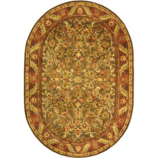 Safavieh Antiquities Majesty Charcoal Rug AT52K Rug Size Oval 46 x 66