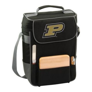 Picnic Time Duet Purdue Boilermakers Print Black/grey
