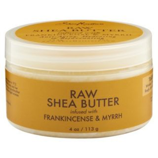 SheaMoisture Raw Shea Butter infused with Frankincense & Myrrh   4 oz